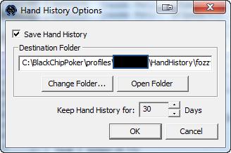 Holdem manager delete hand histories