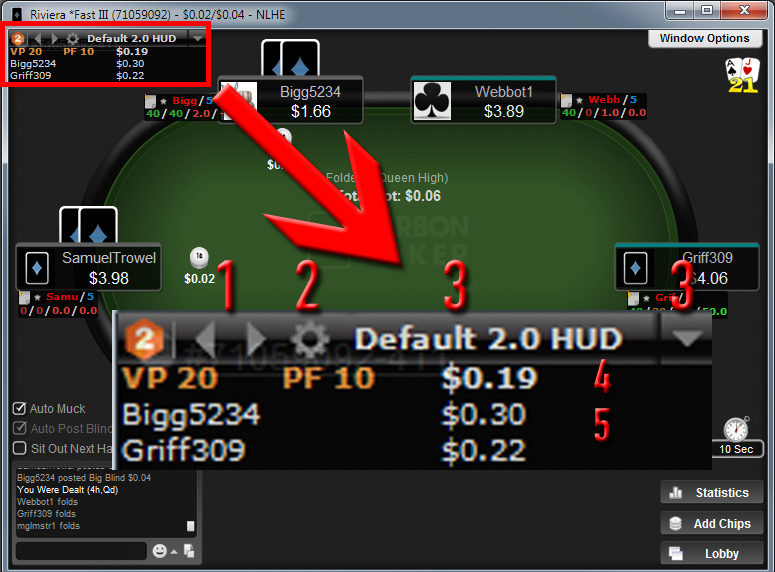 Holdem manager hud stats heads up